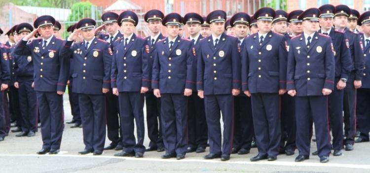 Полицейская форма нового образца правила ношения