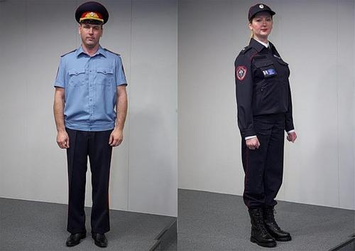 форма сотрудника полиции нового образца правила ношения фото - фото 11