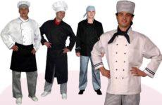Современная униформа для поваров