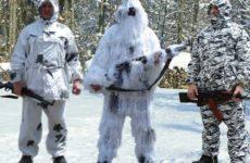 Зимняя одежда для охоты различных производителей