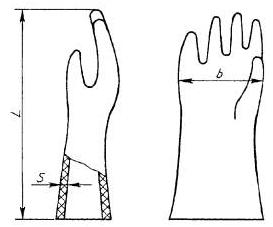 Как определить размер резиновых перчаток