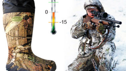 Как выбрать качественную зимнюю обувь для охоты?