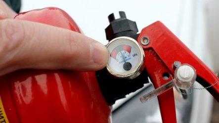 Важность проверки огнетушителей